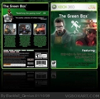 The Green Box box art cover