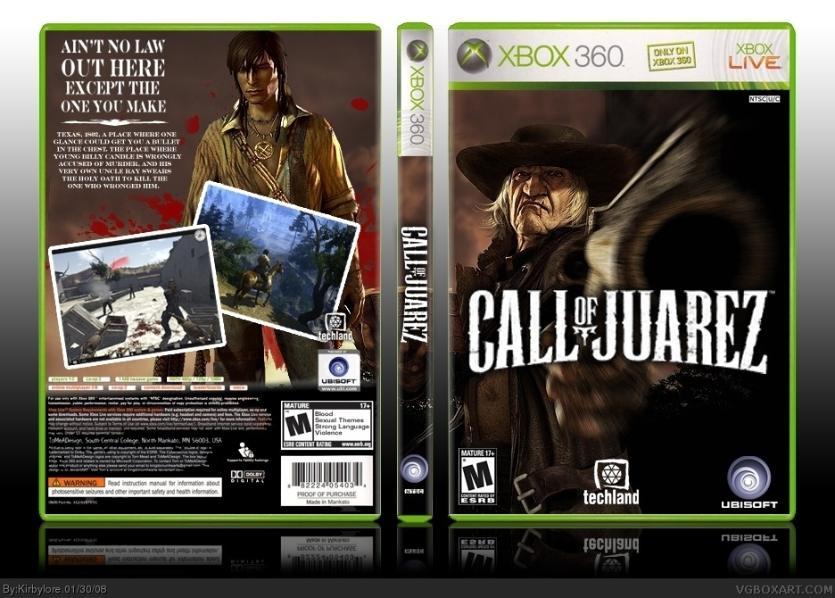Call of Juarez box cover