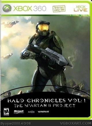 Halo Chronicles Vol:1 The SPARTAN II Project box cover