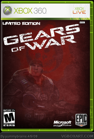 Gears of War: Limited Edition box cover