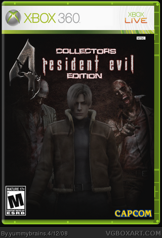 Resident Evil 4: Collectors Edition! box cover