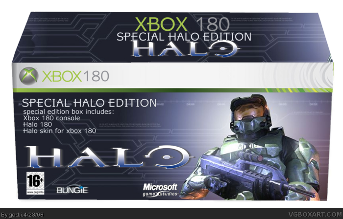 Halo 180 box art cover