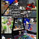 Grand Theft Station Square Box Art Cover