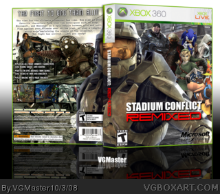 Stadium Conflict: Remixed box art cover
