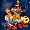 Banjo & Kazooie Box Art Cover