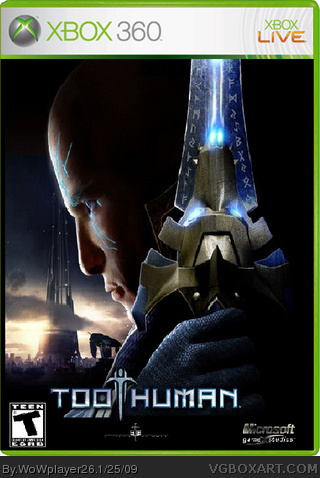 Too Human box cover