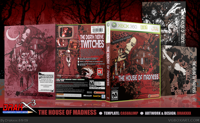 The House of Madness box art cover