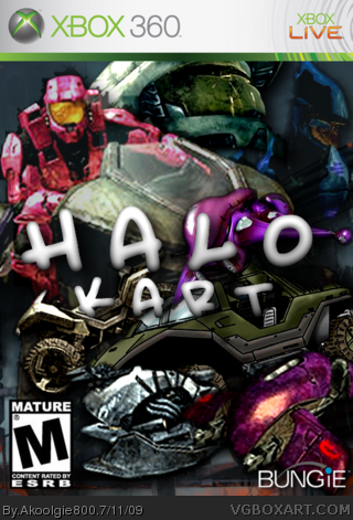 Halo Kart box cover