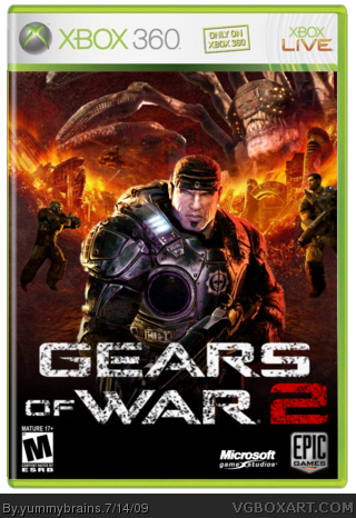 Gears of War 2 box cover