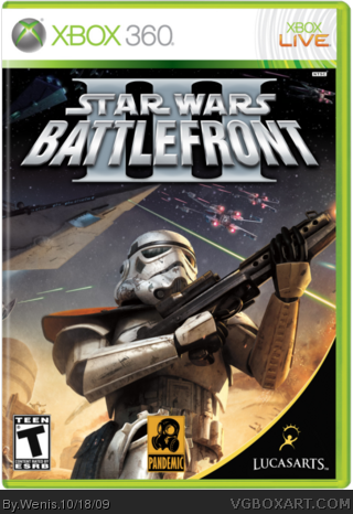 Star Wars Battlefront III box cover