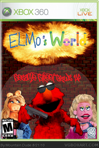 Elmo's World box art cover
