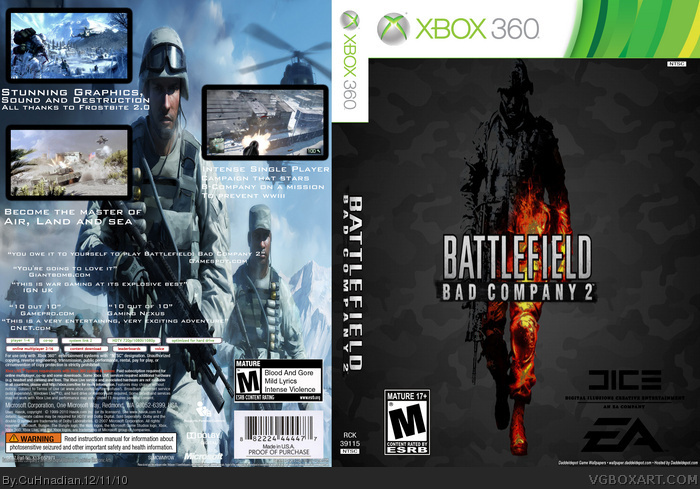 Battlefield 2 for the xbox.