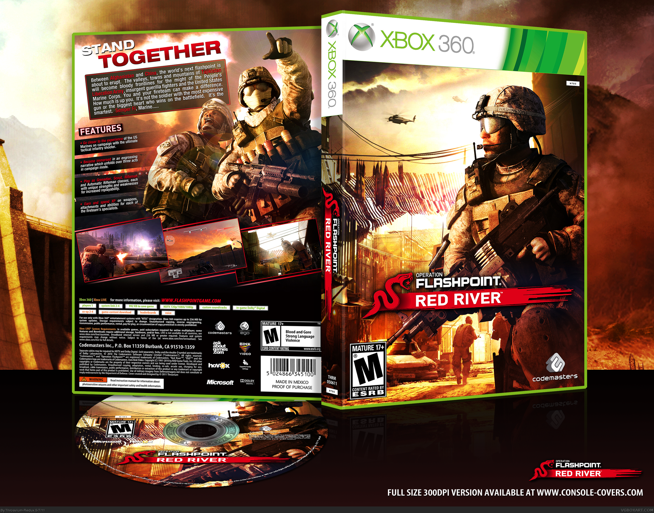 Operation Flashpoint: Red River box cover