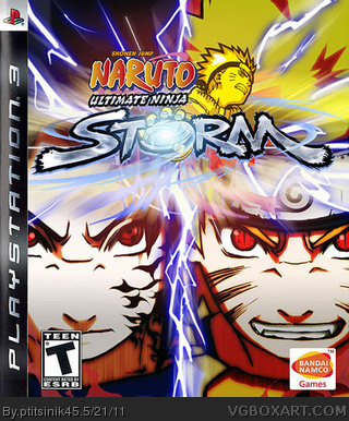 Naruto Ultimate NInja Storm box cover