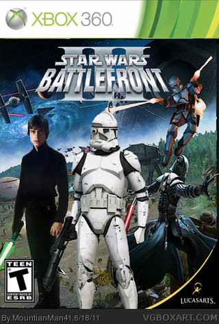 Star wars battlefront iii xbox 360 box art cover by mountianman41.