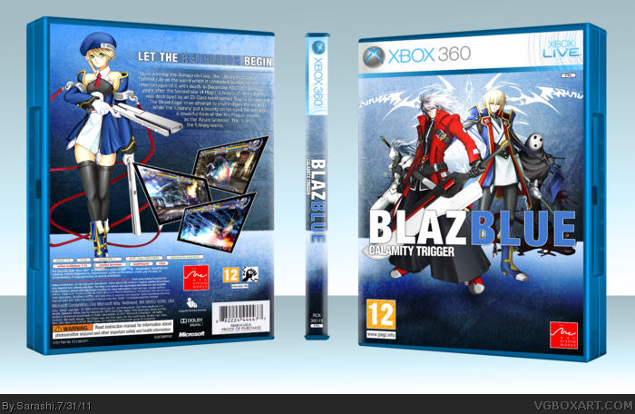 BlazBlue: Calamity Trigger box art cover