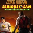 Duke Nukem & Serious Sam: The Atomic Encounter Box Art Cover