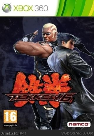Tekken 6 Xbox 360 Box Art Cover By Jinku