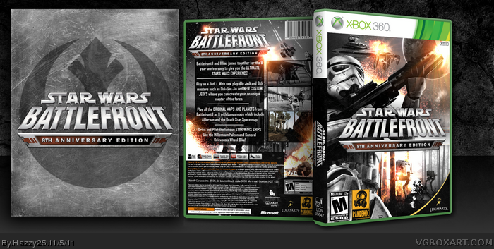 Star Wars Battlefront II box art cover