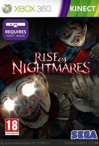 rise of nightmares box cover