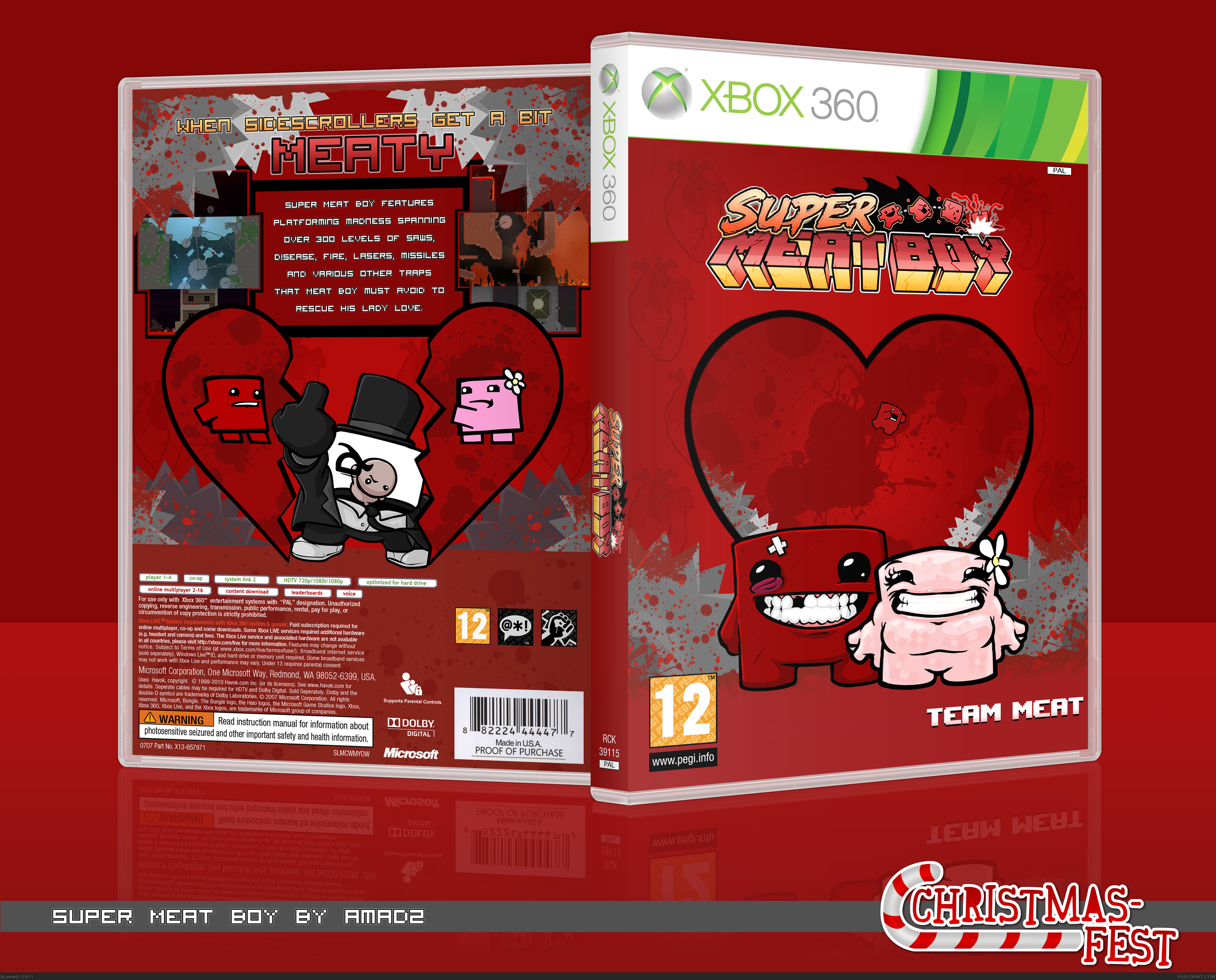Super Meat Boy box cover