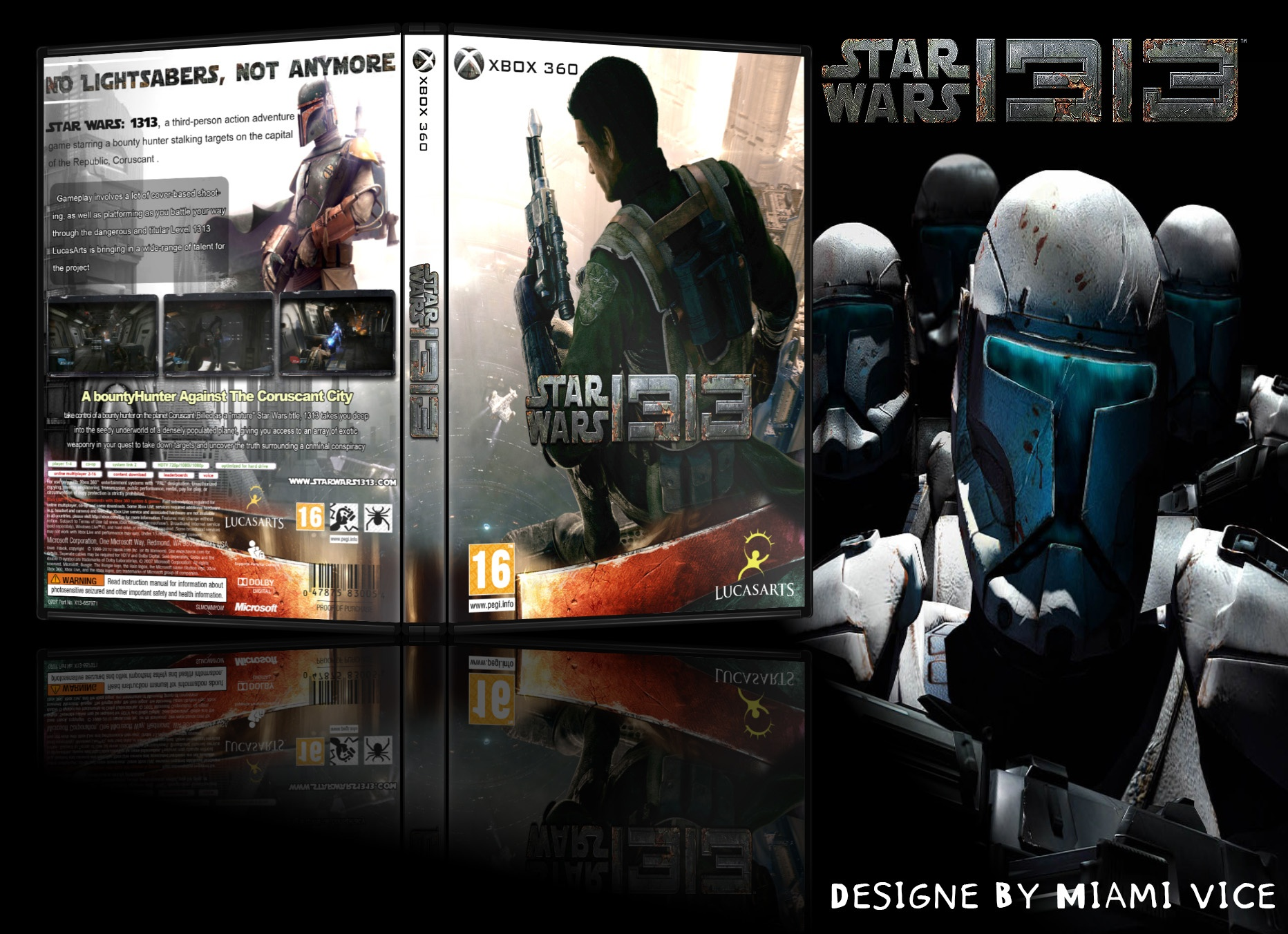 Star Wars 1313 box cover