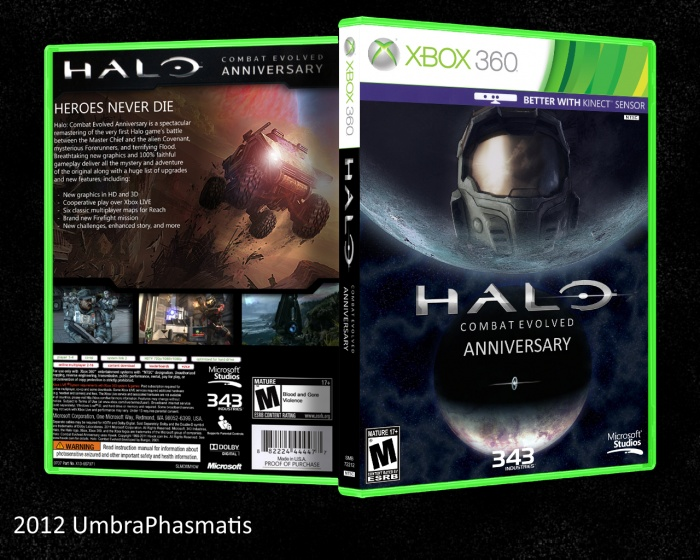 Halo: Combat Evolved Anniversary box art cover