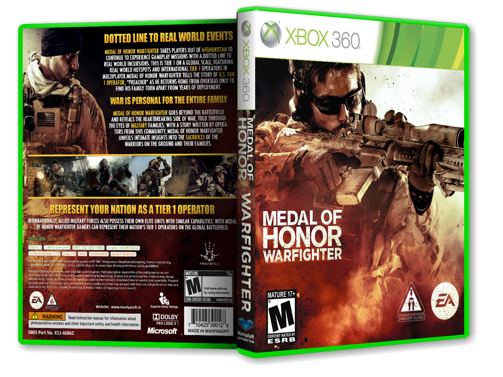 Medal of Honor: Warfighter box cover