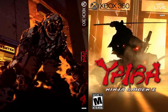Yaiba Ninja Gaiden Z Xbox 360 Box Art Cover By Darkphoenixmishima