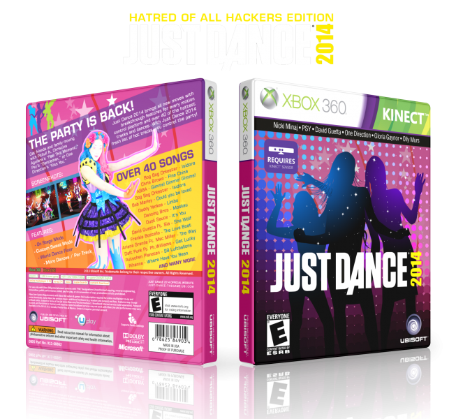 Just Dance 2014 box art cover
