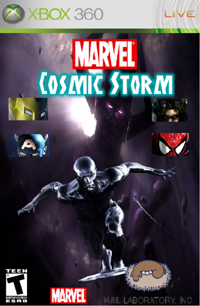 Marvel Cosmic Storm box cover