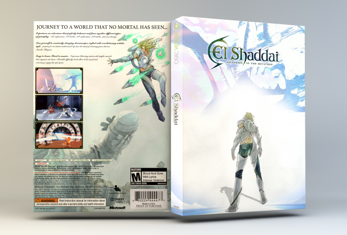 El Shaddai: Ascension of the Metatron box art cover