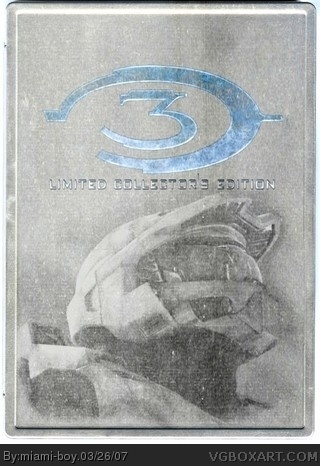 Halo 3 Limited Collector's Edition box cover