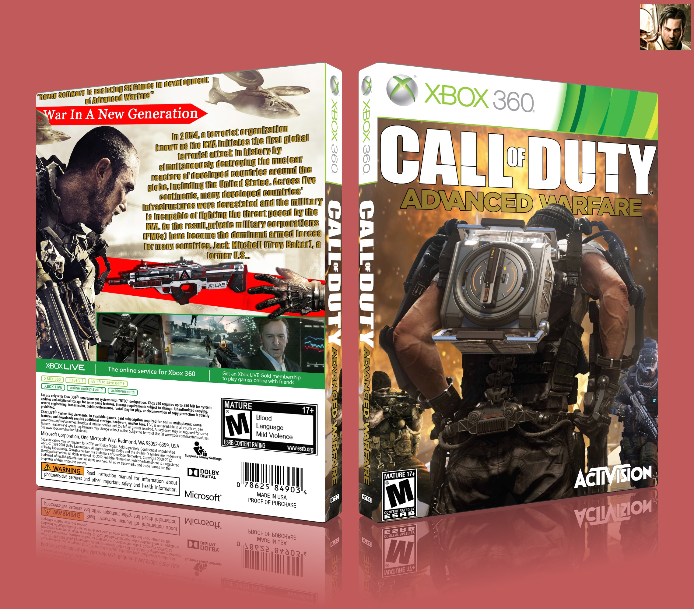 Call of Duty Advanced Warfare box cover