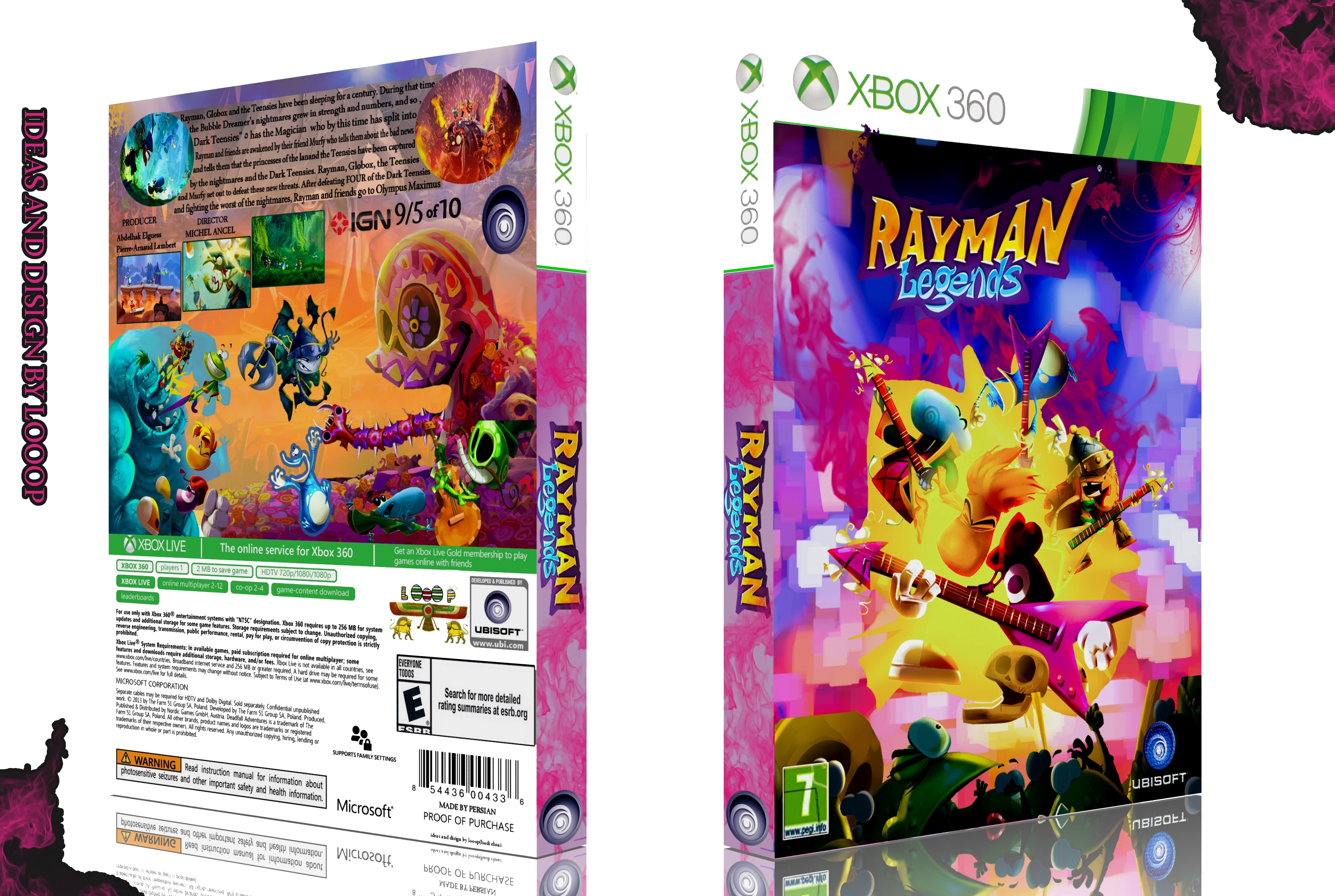Rayman Legends box cover