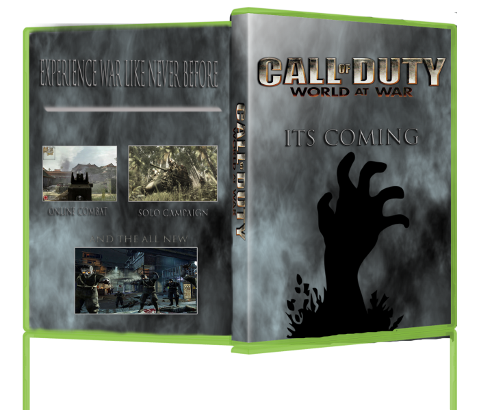 Call of Duty World At War:Nazi Zombies box art cover