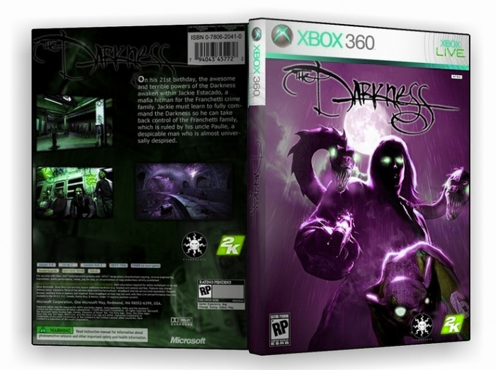 The Darknesss box art cover