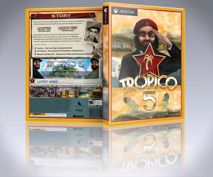 Tropico 5 box art cover
