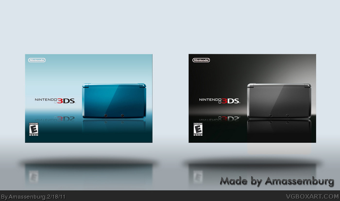 Nintendo 3DS box art cover