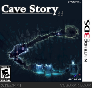 Cave Story 3D box art cover