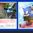 Sonic Adventure 2 3D Box Art Cover