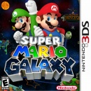 Super Mario Galaxy 3D Box Art Cover