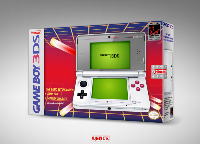 Game Boy 3DS box art cover