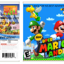 New Super Mario Land. Box Art Cover