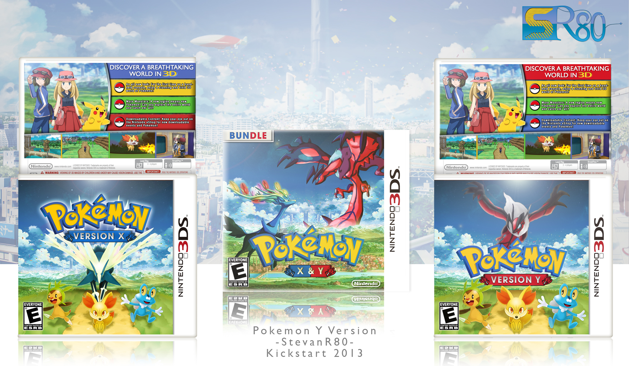 Pokemon X&Y Bundle box cover