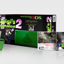 Luigi's Mansion 2 3DS Bundle Box Art Cover