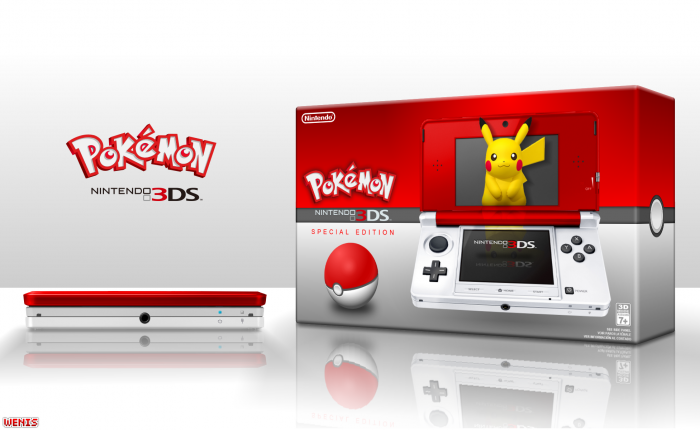 Nintendo 3DS Pokemon Edition box art cover
