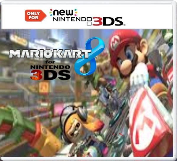 Mario kart 8 3DS Edition box cover
