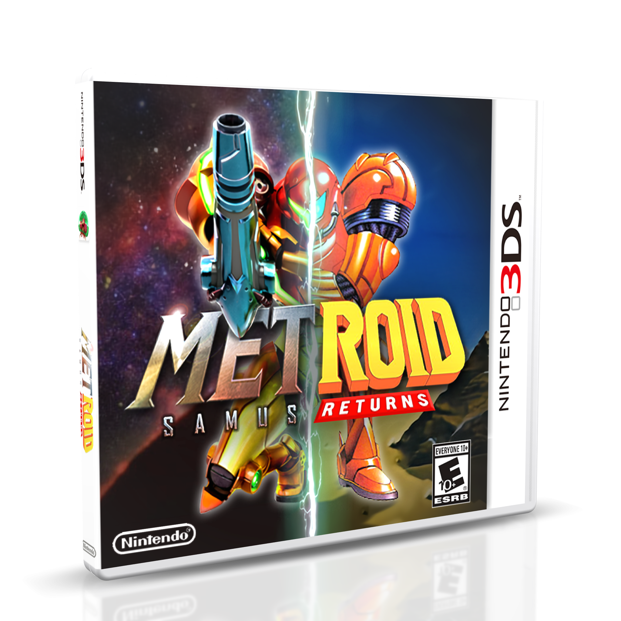 Metroid: Samus Returns box cover