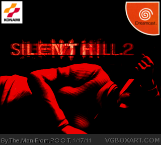 Silent Hill 2 box cover